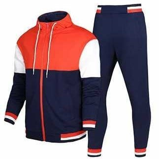 Varioius Colors Are Available Cotton And Polyester Fabric Track Suit