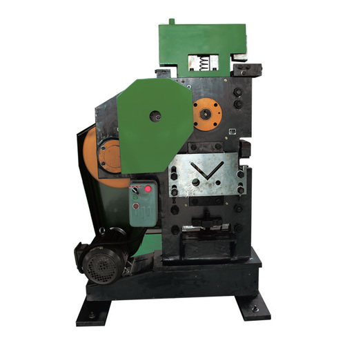 Punching And Shearing Machine For Steel Pipe Angle Plate Applicable Material: Metal
