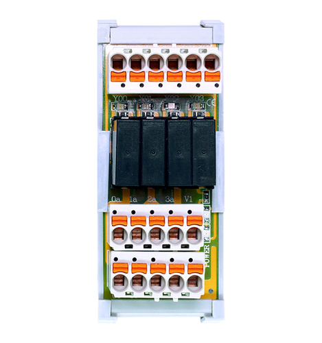 4 Channels Relay Module With Idc (Mil Connector)