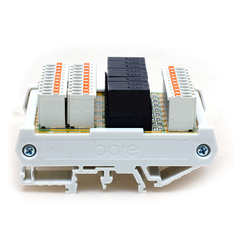 8 Channels Relay Module With Idc, Mil Connector