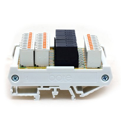 8 Channels Relay Module With Idc, Mil Connector Certifications: Ce