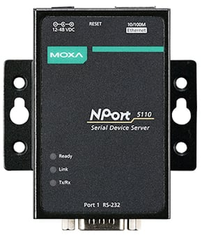 Moxa Nport 5110 1-Port Rs-232 Serial Device Servers