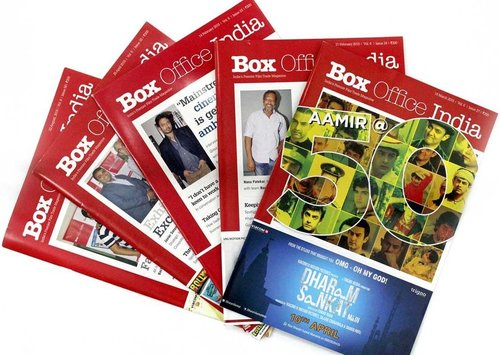 Film Industry Magazine Design Service