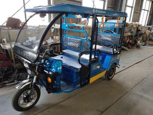 Passenger Electric Rickshaw Certifications: 3C