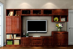 Perfect Finish Wooden TV Cabinet