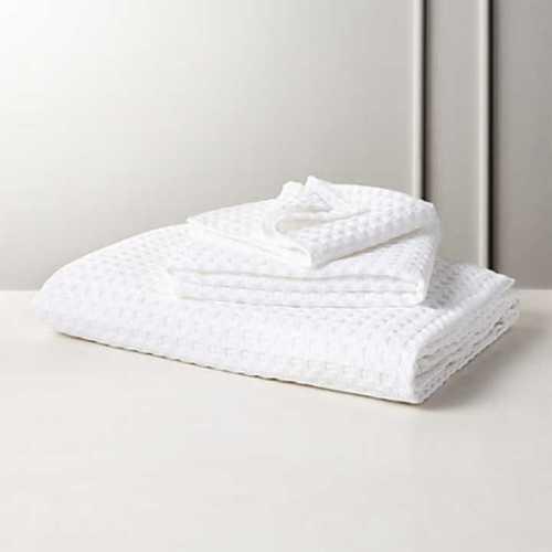 Cotton Waffle Bath Towels