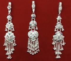 Silver Rajwadi Juda Pin
