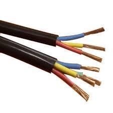 Black 3 Poles Cable Wire