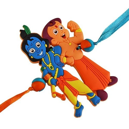 Cartoon Characters Kids Rakhi Length: Various length are available Inch (in)