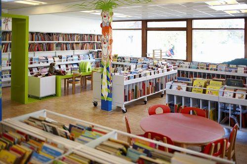 Library Interior Design Service