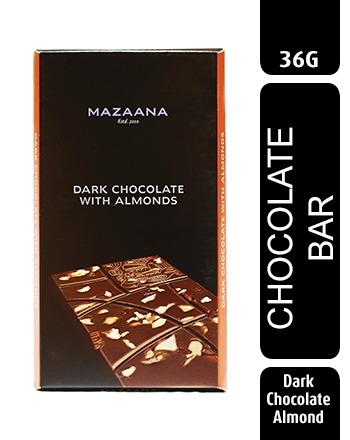 Dark Chocolate Almonds Bar