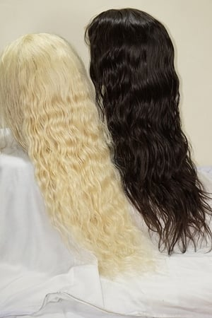 Temple Wavy Front Lace Wigs