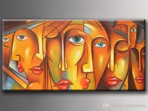 Modern Canvas Oil Painting