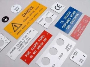 Acrylic Label Cutting Services