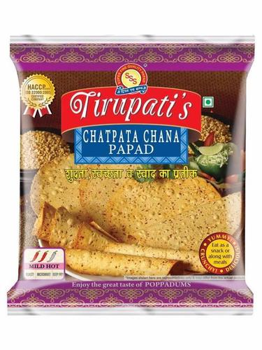 Chatpata Chana Papad