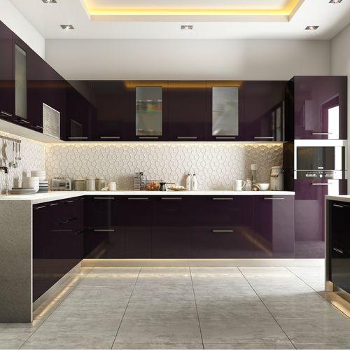 Stainless Steel Modular Kitchen Interior Designing Service