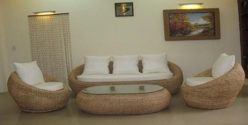 Water Hyacinth Sofa
