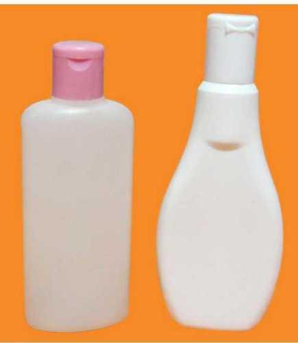 Plain White Hdpe Plastic Bottle