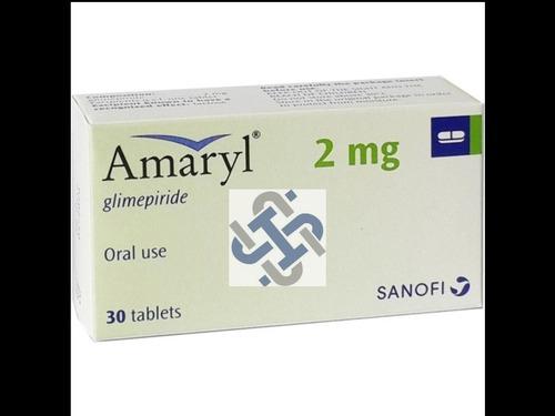 Amaryl Glimepiride 2mg Tablet