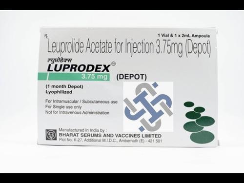 Luprodex Depot Leuprolide, Leuprorelin 3.75mg Injection