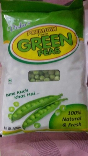 Organic Frozen Green Peas Size: Various Sizes Are Available