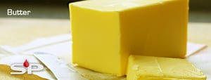 Yellowish Color Pour Cow Butter
