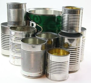 Metal Paint Cans Round Shape