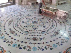 Inlay Work Marble Tiles