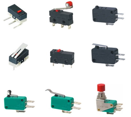 Micro Switch Rocker Switch Push Button Switch 125Vac Certifications: Ce/ Ul