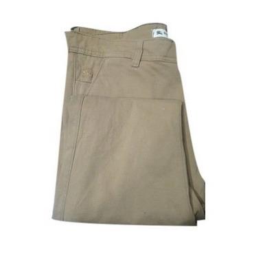 Brown Skin Friendly Mens Cotton Trouser