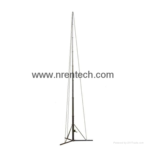 15m Manual Operation Telescopic Mast For Mobile Antenna