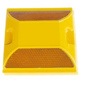 Yellow Road Safety Stud