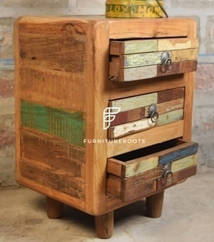 3 Chest of Drawer Antique Reproduction Furniture