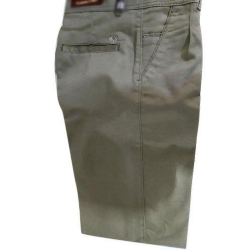 Off White Mens Formal Plain Cotton Pant