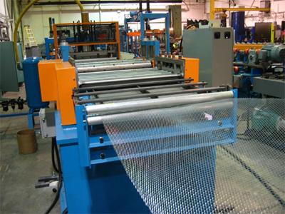 Expanded Metal Sheet Making Machine