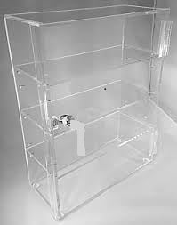 Acrylic Display Cabinet Boxes