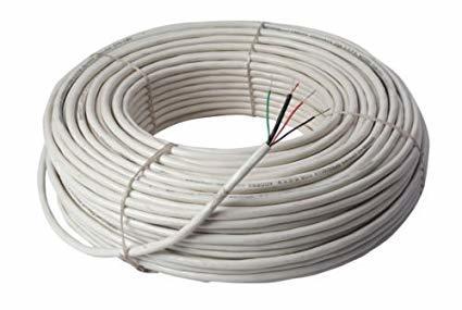 White Color Copper Wire Cable Usage: Home