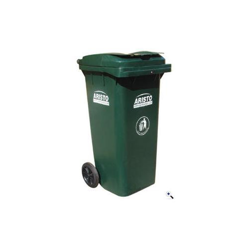 Dear Green Color Plastic Wheeled Dustbin