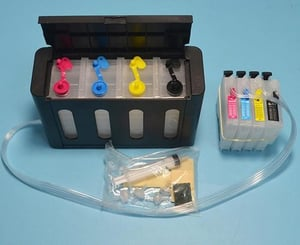 4 Color LC563 CISS Ink System For Brother Printer MFC-J2510