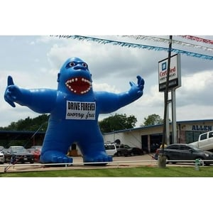 Glossy Pvc Advertising Inflatables