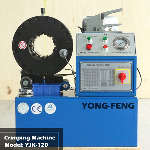 Hose Crimping Machine YJK-120 for Hydraulic Hose Fitting