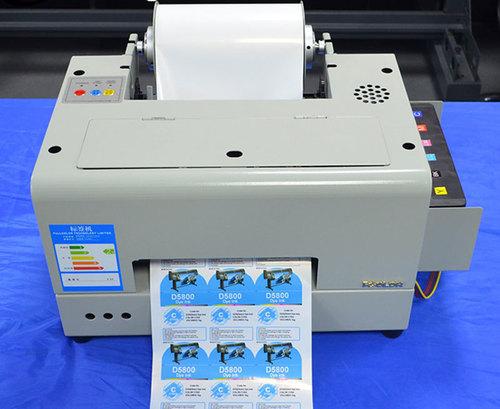 Roll Digital Color Waterproof Barcode Label Printer Machine