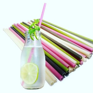 Rice Straws Edible for Drinking