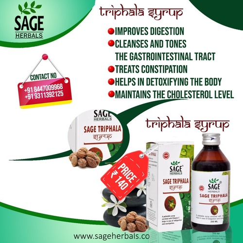 Sage Triphala Herbal Syrup