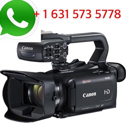XA15 Compact Full HD Camcorder Advanced Bundle Video Camera (Canon)