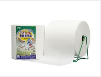 White 100% Wood Pulp Paper Towel