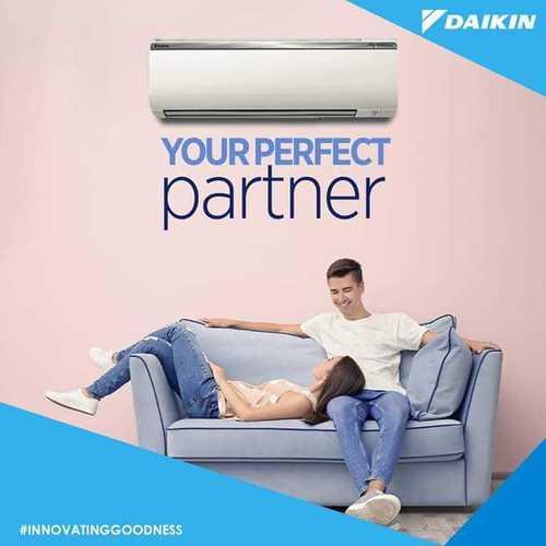 White Daikin Split Air Conditioner