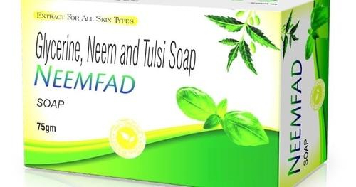 Glycerine Neem And Tulsi Soap (Neemfad)