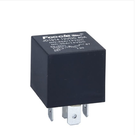 Black Color Auto Relay
