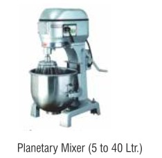 Planetary Mixer (5 To 40 Ltr.)